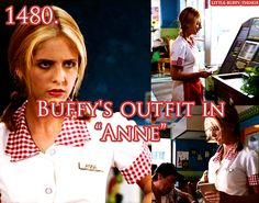 """Buffy's outfit in """"Anne"""""""