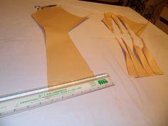 patrón y tutorial de top de fiesta con nudo Flapper Style Dresses, Fashion Dresses, Couture, Stitch, Design, Dress Template, Modeling, Vestidos, Ideas