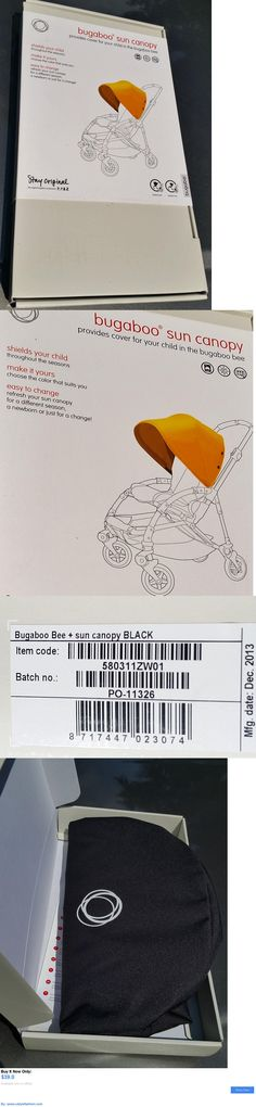 Other Stroller Accessories: Bugaboo Bee Sun Canopy - Black - New In Box BUY IT NOW ONLY: $39.0 #ustylefashionOtherStrollerAccessories OR #ustylefashion