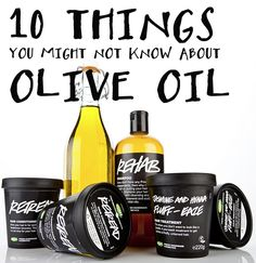 10 things you might not know about olive oil!