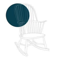 The year is 1943 and with wartime resources in short supply, renowned furniture manufacturer Ercol are tasked by the Board of Trade to design a production friendly version of the classic Windsor chair. The result was the Ercol Chairmakers Rocking Chair - a stunningly simple piece of mid-century furniture that is as much loved today as when it was first produced all those years ago.