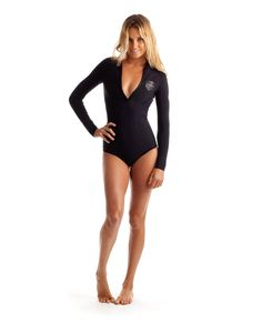 maiô pra surfar Rip Curl Womens Wetsuit G Bomb Front Zip Long Sleeve Booty Springsuit At Hansen's Surf Shop Rip Curl Wetsuits, Alana Blanchard, Sup Yoga, Womens Wetsuit, Fit Girl Motivation, Workout Motivation, Surf Outfit, Swimsuits, Swimwear