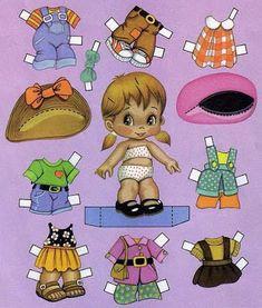 Muñecas para recortar: Colección de muñecas clásicas
