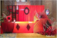 """Red and Black: The Ritz-Carlton ''Chinese Red"""" Wedding Fair in ..."""