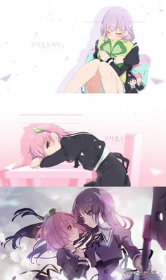 Lily Bouquet, Boquet, Shoujo, Yuri, Squad, Boutique, Manga, Random, Anime Art