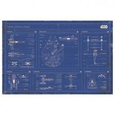 Buy Star Wars Rebel Alliance Fleet Blueprint Wall Poster online and save! Star Wars Rebel Alliance Fleet Blueprint Wall Poster This poster delivers a sharp, clean image and vibrant colours. This poster is printed on high qu. Star Wars Rebels, Poster Wall, Poster Prints, Poster Online, Architectural Prints, Rebel Alliance, Entertainment, Wall Art For Sale, Star Wars