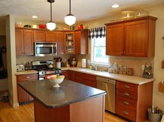 Oak Kitchen Cabinets Design Ideas For Comfort Cooking Experiece