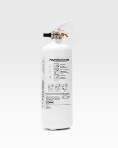 fire extinguisher packaging — curated by minimalism.co