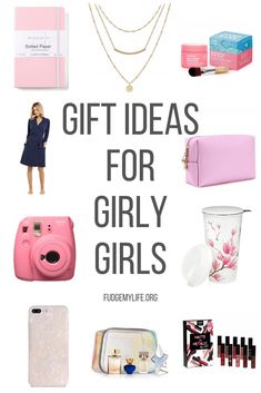 Gift ideas for girly girls that she'll love. Click here to find the best girly girl gift ideas on this girly girl gift guide for her!