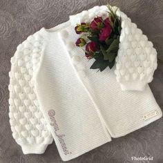 # raspberry # cardigan # very # thank god # done. Baby Cardigan Knitting Pattern, Baby Knitting Patterns, Baby Patterns, Crochet Girls, Crochet For Kids, Crochet Baby, Knitting For Kids, Free Knitting, Crochet Coat