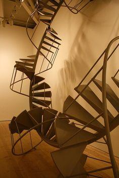 saatchi gallery stairway