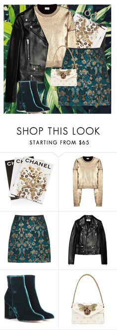 """""""27.1"""" by blackrose15orchiday ❤ liked on Polyvore featuring KEEP ME, Assouline Publishing, Yves Saint Laurent, Gianvito Rossi, Gucci and Amy Winehouse"""