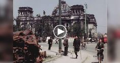 Incredible Color Footage Of Berlin At The End Of World War II  http://flip.it/QpJVi