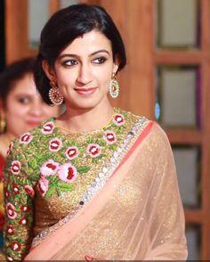 Bride in Pranaah Saree Blouse Patterns, Saree Blouse Designs, Blouse Styles, Beautiful Blouses, Beautiful Saree, Indian Dresses, Indian Outfits, Bridesmaid Saree, Desi Wear