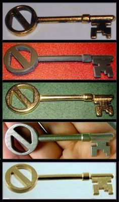 Reproductions of the key from Return to Oz!! Available from http://www.shapeways.com/model/81002/the-key.html?li=productBox-search