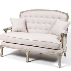 french provincial settee - Google Search