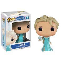 This is the Elsa POP Vinyl figure that is produced by Funko. Here we have Elsa in Funko POP Vinyl figure form. Elsa is a major character in Disney's massively popular animated film Frozen. Disney Pop, Frozen Disney, Elsa Frozen, Film Frozen, Disney Pixar, Frozen 2013, Frozen Princess, Disney Movies, Figurine Pop Disney