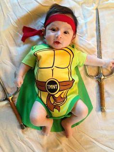 Baby Ninja Turtle.