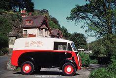 Falles Service van, on location.