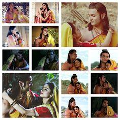 8 and countless hand holds. how much romantic this divine couple be. just love them Designer Bridal Lehenga, Bridal Lehenga Choli, Siya Ke Ram, Devon Ke Dev Mahadev, Bridal Chuda, Sita Ram, Pooja Sharma, Radha Krishna Love Quotes, Eternal Love