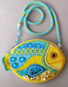 Here is collection of photos of beautiful and unique bags made in bead embroidered technique