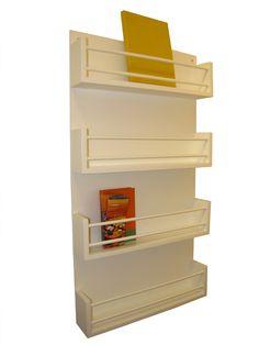 Librero de pared