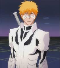 Image result for Ichigo Kurosaki (Bleach) symbiote armor