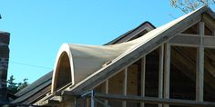 Eyebrow dormer have a low upwards curve with no distinct for Barrel dormer