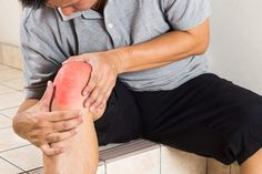 Matured Man Suffering Painful Knee Joint Seated On Steps Stock Photo - Image of injury, ache: 54119300 Vintage Graphic Design, Mature Men, Knee Pain, Stock Photos, State University, Professor, Remedies, David, Study