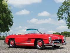 1958 Mercedes-Benz 300 SL Roadster Mercedes Benz 300, Classic Mercedes, Buy Tickets, Dream Cars, Classic Cars, Automobile, Auction, London, Euro