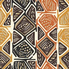 african tribal pattern - Buscar con Google