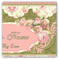 Tempates/Cards etc   Victorian Rose 261