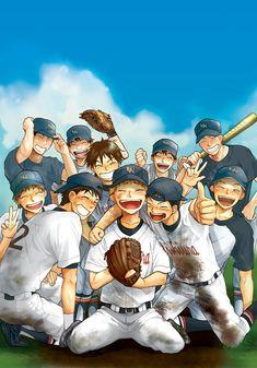 Ookiku Furikabutte, Baseball