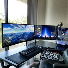 Think I'm done with my battlestation -- not sure if I have room for some good speakers though?