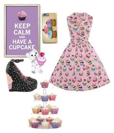 """Cupcake time"" by alex-hawk-24 on Polyvore featuring Swarovski and Iron Fist"