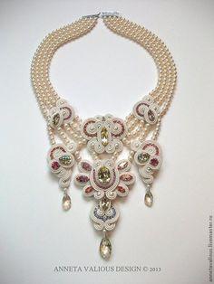 Купить Lakshmi's Gift - Bead Dreams 2013 - сутажная техника, сутажная вышивка, сутажные украшения