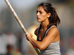 Allison Stokke (not on the USA team, but part of the olympics)