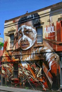 Urban mural by Adnate #adnate #art #streetart #graffiti