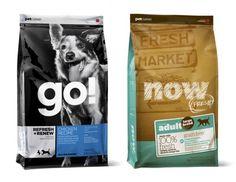 """Comida para perro /// Bolsa Pounch en donde la imagen del canino, la palabra """"go"""" y la utilización del color se conjugan para formar un packaging equilibrado, pregnante y con claras connotaciones del producto y hacia qué tipo de público apunta"""
