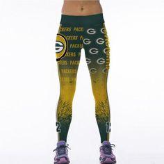 High Waist 3D Footballs Team Print Sporting Leggings Gothic Fitness Women Sportswear Push Up Polyester/Spandex Slim Active Pants