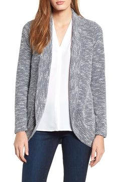 Chaus boucle knit cardigan Street Style Shop cd333e8af