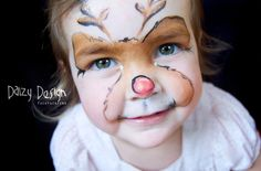 (97) Daizy Design Face Painting