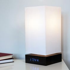 Click Clock Lamp by Gingko