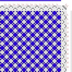 Hand Weaving Draft: Figure 767, A Handbook of Weaves by G. H. Oelsner, 4S, 4T - Handweaving.net Hand Weaving and Draft Archive