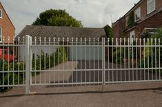 ColourRail gates are manufactured from heavy duty tubular steel and are ideal for situations where full screening is not required. They can be mounted free standing using the appropriate posts, or between existing pillars/walls. To find out more about ColourRail gates visit our website http://colourfence.co.uk/products/gate-features/ Or call 0800 6444113
