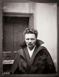 Famous Playwright, August Strindberg, Autoportrait à Berlin, 1892, coll. Bibliothèque nationale de Suède