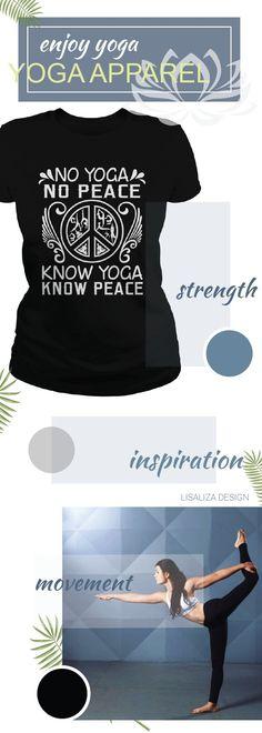 Yoga and peace Women Yoga TShirt / Ladies Tee.  #Fitness #Exercise #yoga # #yogadesign #chakra #yogalover  #energy #inspiration #yogacasual #workout  #inhale #exhale #breathe  #meditation #women #fashion #Sunfrog #Lisaliza #giftideas #health #lifestyle