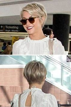 Julianne Hough Joins the Pixie Cut Crew; Looks Fab – Brittney Elrod Julianne Hough Joins the Pixie Cut Crew; Looks Fab Julianne Hough's pixie cut makes me want to go back to short hair again. Short Pixie Haircuts, Cute Hairstyles For Short Hair, Short Hair Cuts, Short Hair Styles, Trendy Hair, Teen Hairstyles, Long Pixie Cuts, Casual Hairstyles, Celebrity Hairstyles