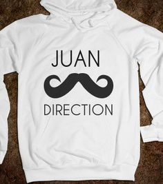 Juan Direction - All Things 1D For You! - Skreened T-shirts, Organic Shirts, Hoodies, Kids Tees, Baby One-Pieces and Tote Bags