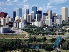 Edmonton, Alberta, Canada, you must see the mall! Alberta Canada, Alaska, Canada Eh, Canada Goose, Western Canada, City Wallpaper, City Landscape, Banff National Park, Canada Travel